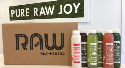 RAW PULP & GRIND 3-DAY JUICE CLEANSE
