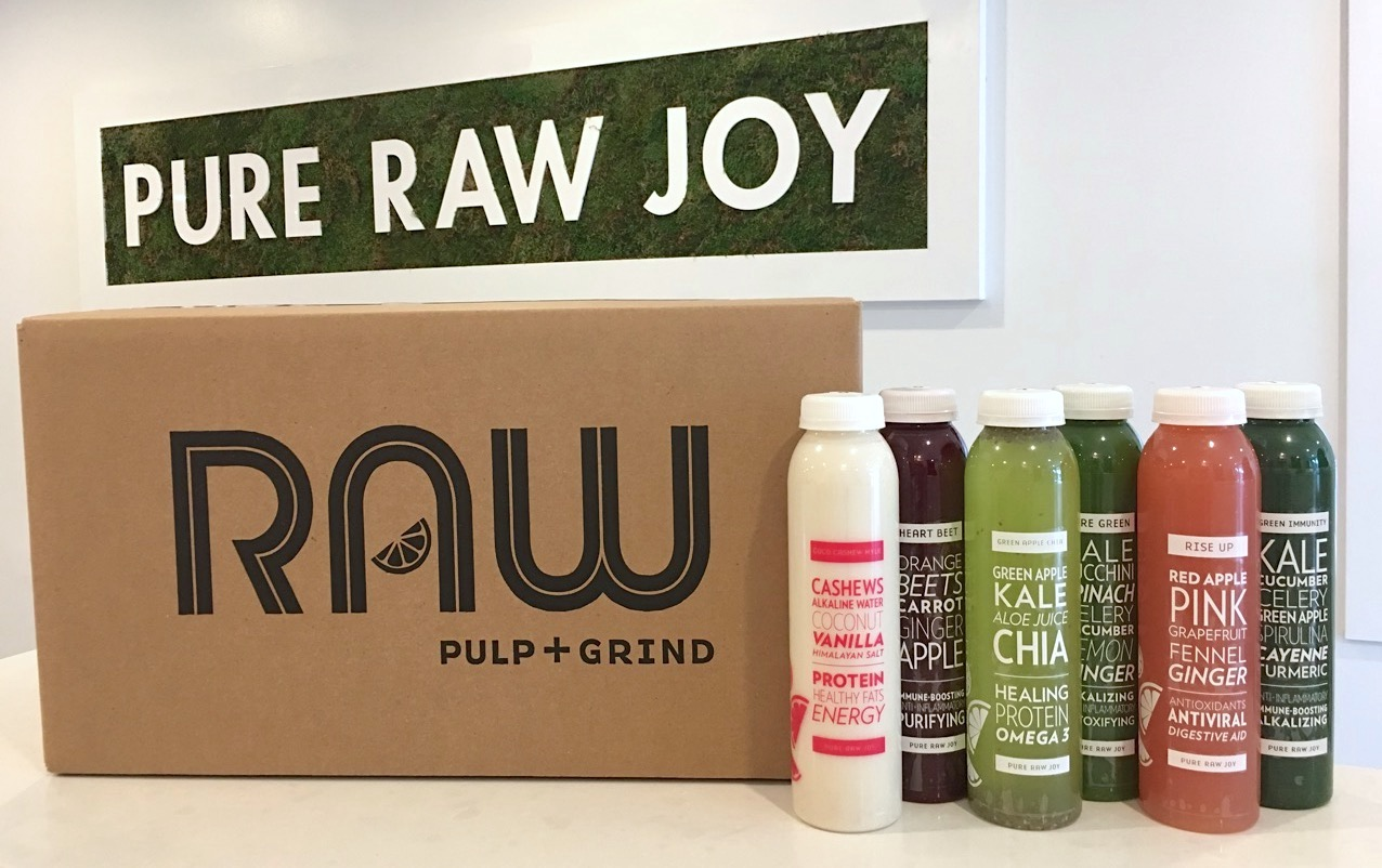 Raw Pulp & Grind 3 Day Juice Cleanse, RAW PULP & GRIND 3-DAY JUICE CLEANSE